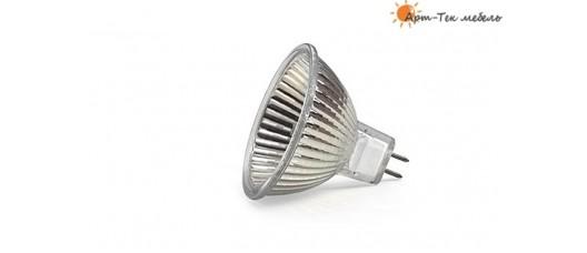 MR-16 Лампа галогеновая  12v/20W