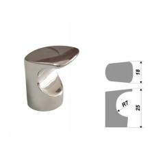 -Ручка Boyard RC007 кнопка, сатин