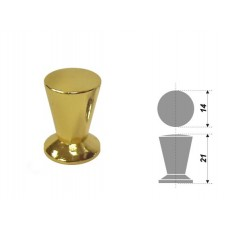 -Ручка Boyard RC002 кнопка, золото