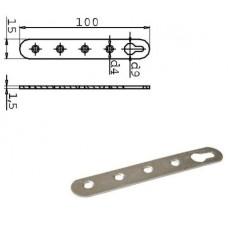 Навеска-серьга под 4 шурупа, верхняя, цинк