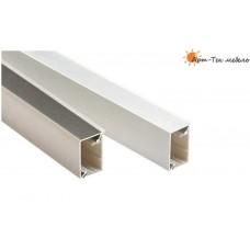 50/60  Плинтус столешницы 4,2м. прямоугольный 32х21мм., алюминий глянец, шт.