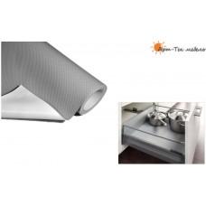 VIBO коврик противоскользящий, 480х1,5мм. 20м., серый, м.пог.