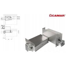 CAMAR 806 Подвес кухонный, накладка металл сатин, комплект (левый+правый)