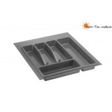 Лоток серый Volpato х450 (w390) для столовых приборов