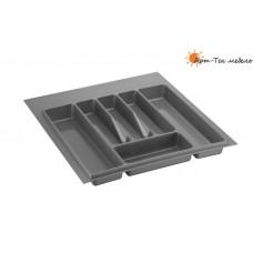 Лоток серый Volpato х500 (w440) для столовых приборов