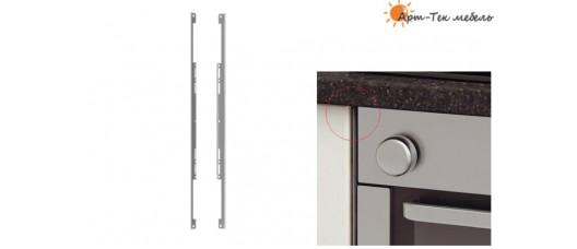 Накладки защитные духового шкафа (2шт.), металлик