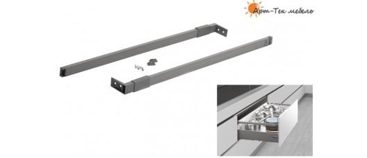Unihopper Magic Box Рейлинг-расширитель квадратный 500мм., антрацит