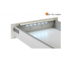 LED Подсветка ящика DLED 290мм. 0,4W с вибродатчиком (без батареек ААА 6х1,5V), белый свет