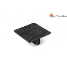 Ручка  CITTERIO.2041 кнопка L=32мм., эмаль черная