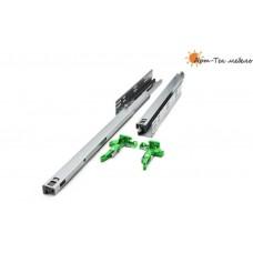 -Направляющие FGV EXCEL 3D скрытые 400мм. с доводом (под ящик 390мм.), компл.