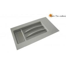 Лоток серый Tetrix х500-550 для столовых приборов