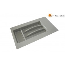Лоток серый Tetrix х400-450 для столовых приборов