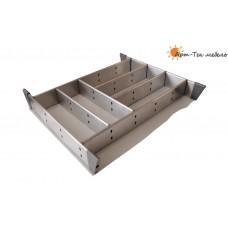 Вкладыш наборный для столовых приборов х600мм., сталь нерж.