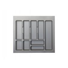 Лоток серый х800 для столовых приборов S.2289